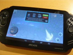 Archos Gamepad 2 Maping Tool