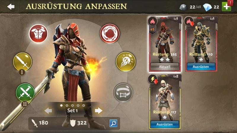 Dungeon Hunter 5 Ausrüstung