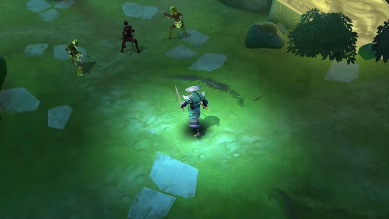 Den Ninja wird es wohl nur als Armor-Set und nicht als Klasse geben. (Bildquelle: Gameloft)
