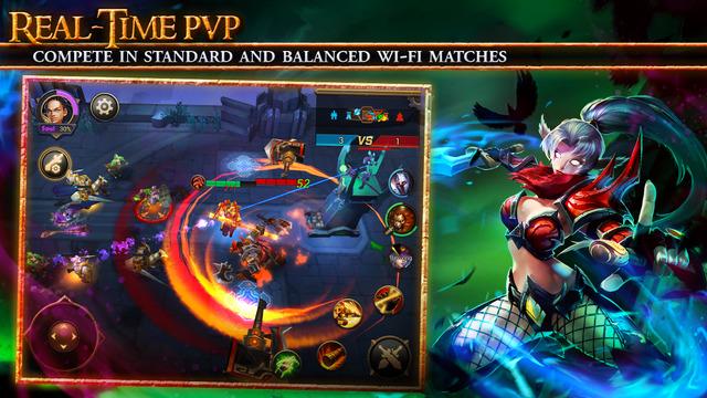 So ganz Player vs Player ist dieser PvP in den Zufallsmatches leider nicht. (Bildquelle: iTunes / NetEase)