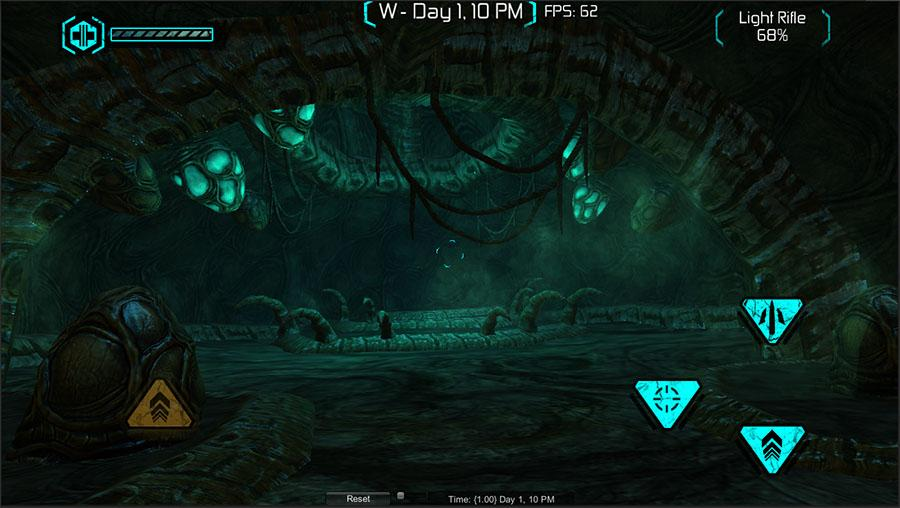 Exiles Alien Hive (Quelle: Crescent Moon Games / Twitter)