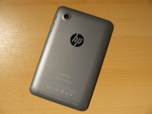 HP Slate 7 Plus Rückseite