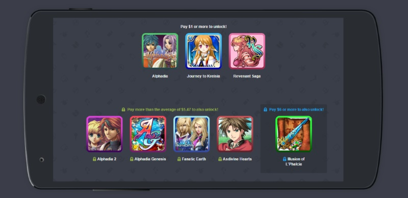 Viele Spiele für wenig Geld. Humble Bundle macht es gern möglich. (Quelle: Screenshot)
