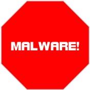 Malware Stoppschild