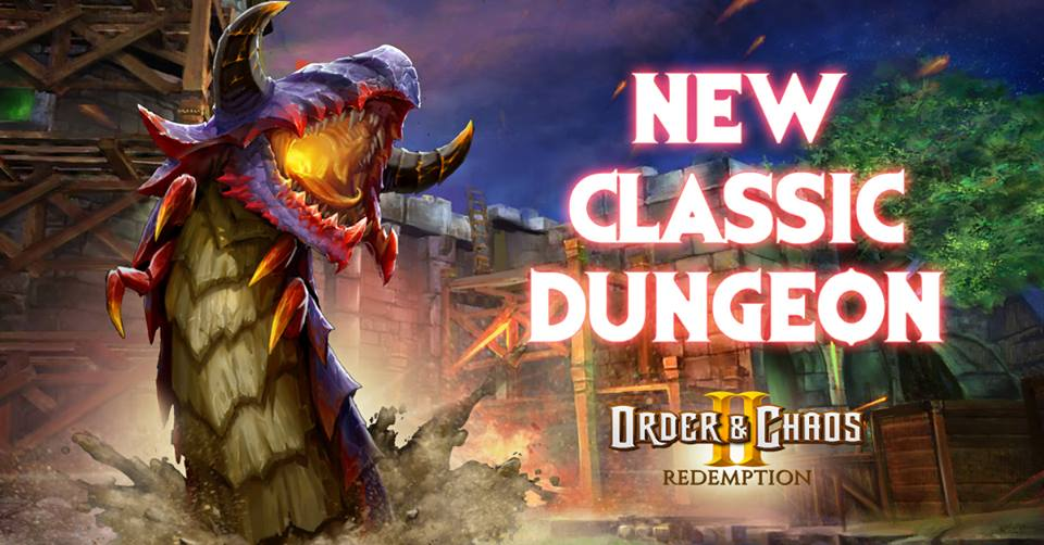 New Classic Dungeon Order and Chaos 2