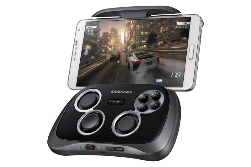 Samsung Gamepad mit Smartphone