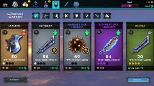 Item-Drops gibt es im Spiel nicht. Mit neuem Material versorgt uns der Shop. Quelle:Screenshot