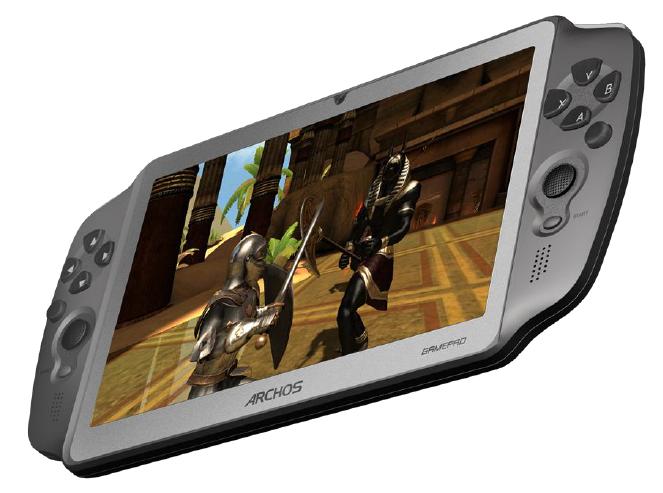 Archos GamePad: 7-Zöller mit integriertem Controller und Android 4.0