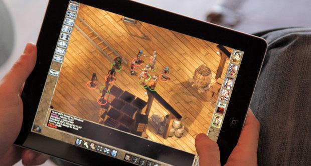 Baldur´s Gate auf dem iPad.