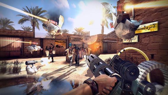Dead Trigger 2 Screenshot Gatling