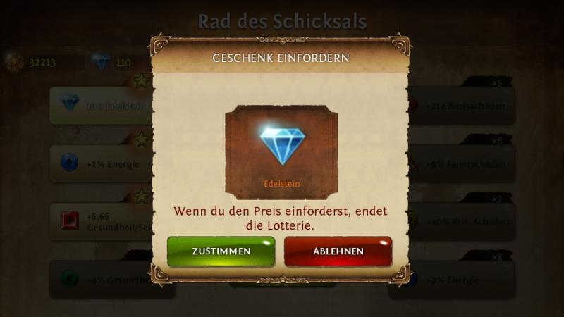 Kostenlose Diamanten bei Dungeon Hunter 4