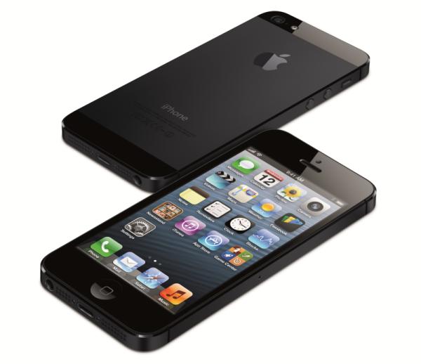 iPhone 5 in Schwarz